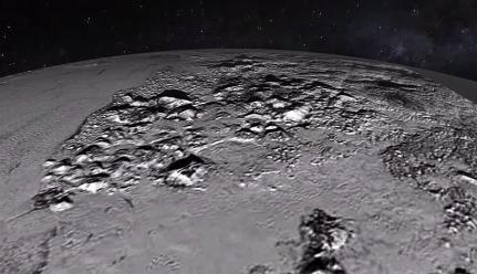 Youtube: La Nasa muestra cómo sería sobrevolar Plutón