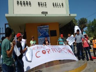 Lambayeque: universitarios rechazan corrupción en UNPRG