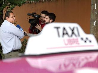 México: taxistas se unen en contra de Uber y Cabify