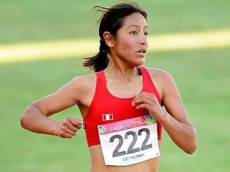 Panamericanos 2015: Inés Melchor no completó maratón por fatiga muscular