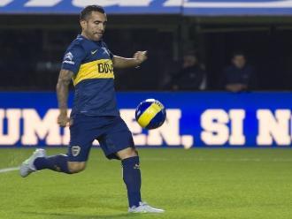 Boca Juniors: Carlos Tévez y un 'sombrerito' de lujo en su debut