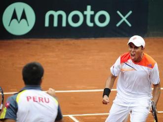 Copa Davis: Perú consigue su primer punto ante Bolivia