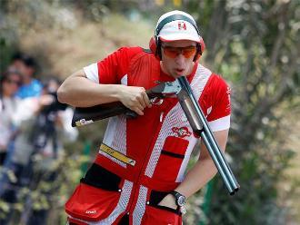 Panamericanos 2015: Nicolás Pacheco quedó cuarto en tiro skeet