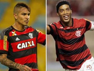 Paolo Guerrero supera a Ronaldinho y Romario en sus inicios con Flamengo