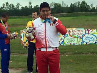Peruano Marko Carrillo irá a los Juegos Olímpicos Río 2016 en tiro