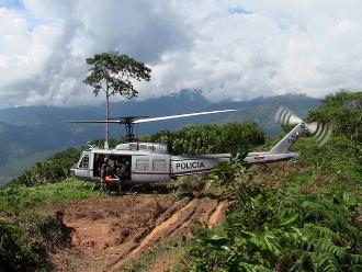 Ayacucho: productores de hoja de coca del Vraem acatan para de 48 horas
