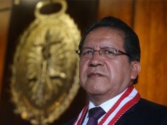 Pablo Sánchez jura hoy martes como fiscal de la Nación