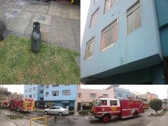 WhatsApp: fuga de gas alarmó a vecinos de Pueblo Libre