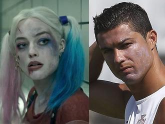 Suicide Squad: Cristiano Ronaldo coquetea con Harley Quinn
