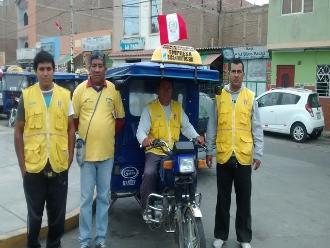 Chiclayo: dos días de castigo para mototaxistas que no coloquen banderines
