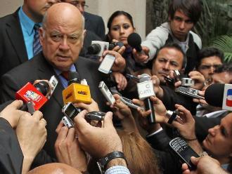 Insulza insta a chilenos a no exagerar por litigio con Bolivia