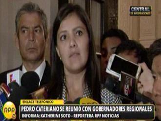 Gobernadora de Arequipa desmiente a ministra de Energía y Minas