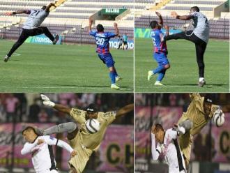Juan 'Chiquito' Flores y el video de su última patada voladora en Segunda