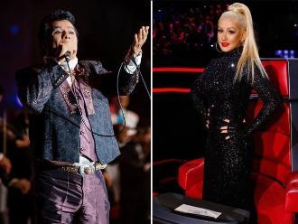 Juan Gabriel grabará a dúo con Christina Aguilera