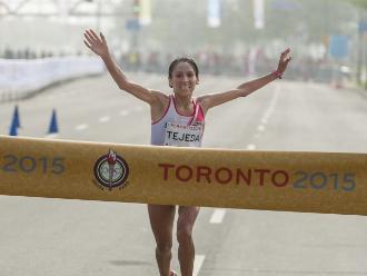 Gladys Tejeda: Organizan carrera en señal de apoyo para atleta peruana