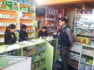 Farmacias en Ica funcionaban con licencias para tiendas de abarrotes