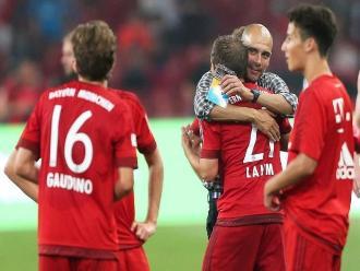 Bayern Munich suma otra victoria ante el Inter de Milán en amistoso