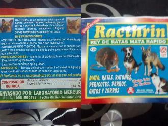 WhatsApp: Veneno se vende para usar como raticida y en mascotas