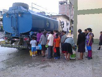 Arequipa: pobladores de Paucarpata sin agua por 3 días