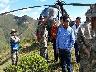 Cajamarca: suspenden búsqueda aérea en Ayabaca por mal tiempo