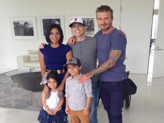 David Beckham cumplió conmovedor sueño a enfermo de cáncer terminal