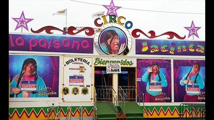 Empresario niega estar detrás de ataque a circo de La Paisana Jacinta