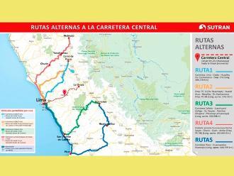 Fiestas Patrias: restringirán tránsito de carga en Carretera Central