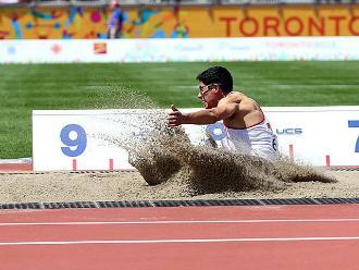 Panamericanos 2015: Jorge McFarlane no pudo ganar medalla en salto largo