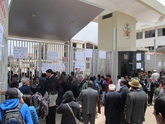 Cusco: estudiantes tomaron local de la Unsaac