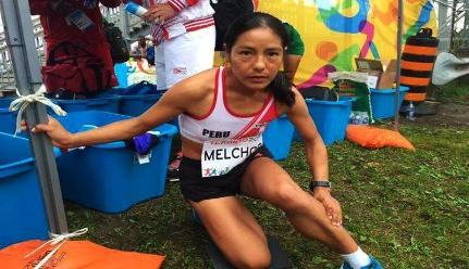 Panamericanos 2015: Con garra y coraje, Inés Melchor completó los 10 mil metros