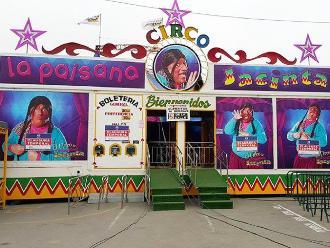 Policía refuerza vigilancia en circos de San Juan de Lurigancho
