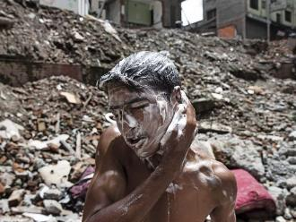 La vida después del terremoto en Nepal