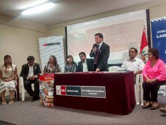 Lambayeque: presentan oficialmente actividades por Fiestas Patrias