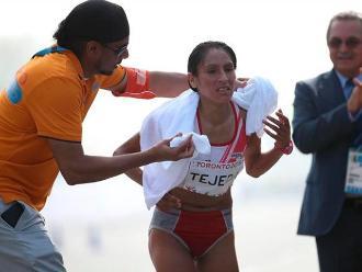 Toronto 2015: Gladys Tejeda no participará en los 10 mil metros