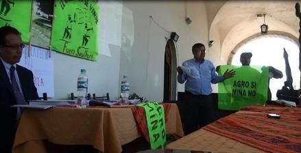 Arequipa: admiten demanda que busca dejar sin efecto EIA de Tía María