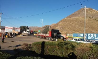 Manifestantes desbloquearon vía Cusco-Puno- Arequipa