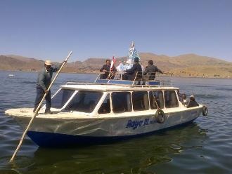 Puno: pobladores se movilizaron contra concesión acuícola a Mitano S.A.C.