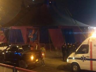 Explosión de granada en circo: Intervienen a implicado en el atentado
