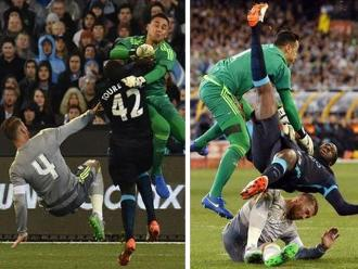 Real Madrid vs. Manchester City: Navas da terrible golpe a Yayá Touré