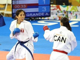 Panamericanos 2015: Alexandra Grande clasifica a las semifinales de karate