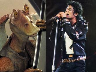Star Wars: Michael Jackson quiso ser Jar Jar Binks