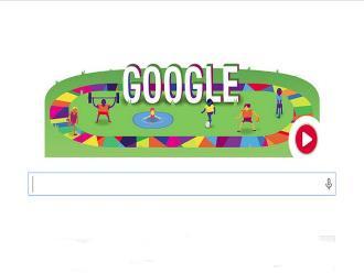 Google celebra el inicio de los Juegos Olímpicos Especiales con un 'doodle'