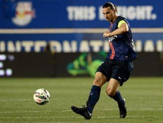 Zlatan Ibrahimovic manifestó su deseo de jugar en la Major League Soccer