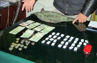 Tumbes: intervienen a nueve sujetos con 500 ketes de pasta básica de cocaína