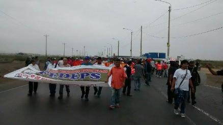 Apurímac: pobladores de Challhuahuacho acatan paro de 24 horas