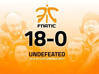 League of Legends: Fnatic establece impresionante marca