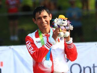 Panamericanos 2015: Raúl Pachecho gana la medalla de plata en maratón