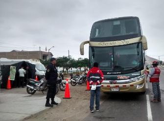 Chiclayo: Policía de Carreteras inicia operativos por Fiestas Patrias