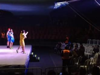 Esto es Guerra: circo atrajo a menos de 100 asistentes en estreno