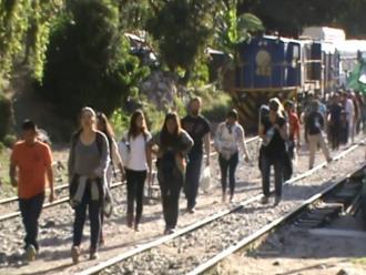 Cusco: turistas extranjeros realizan caminatas hasta Macchu Picchu